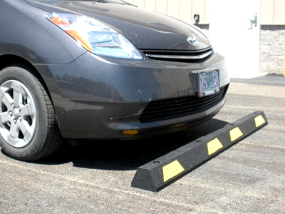 Rubber Car Stop Wheel Stop Parking Curb