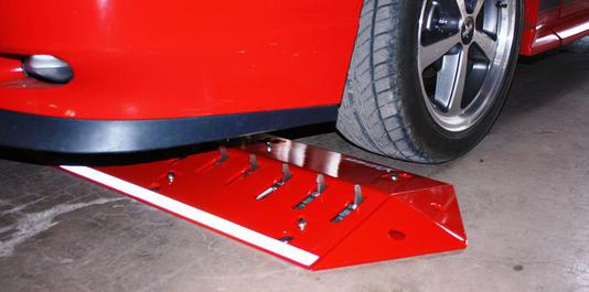 Low Profile Traffic Spikes, sports car safe traffic spikes, Viper,